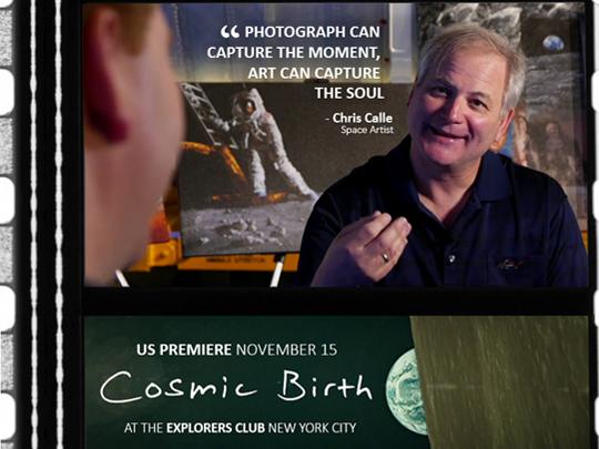 Cosmic Birth Movie Header