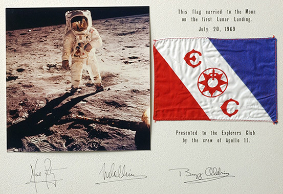 Apollo 11 Famous Firsts
