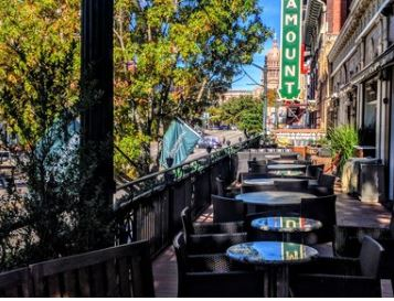 Steven F Bar balcony